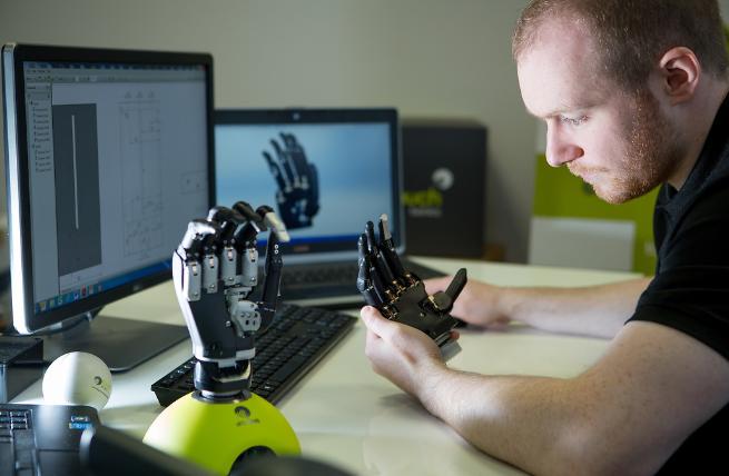 Touch Bionics   Scotland.org