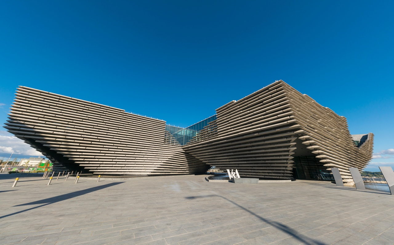 V&A Museum of Design in Dundee
